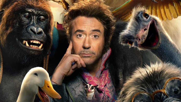 Downey Jr. talks to the animals in first Dolittle trailer