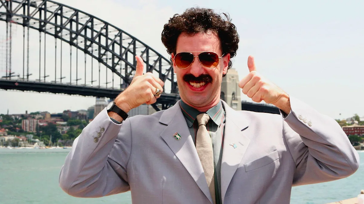6 wild things that happened when Borat visited Australia in 2016