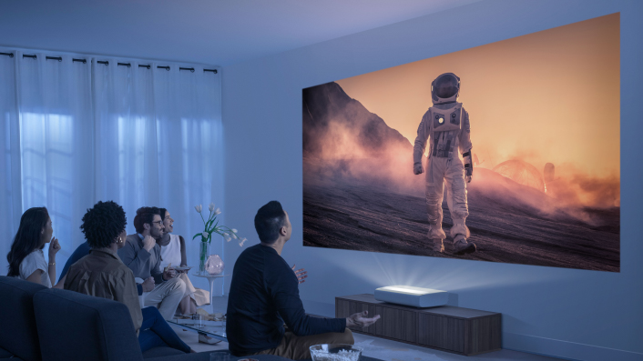 A weekend in with The Premiere, Samsung's new projector