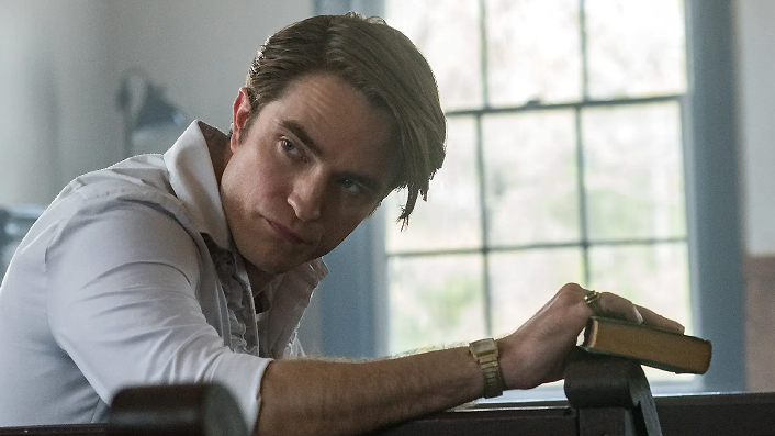 Robert Pattinson sleazes up the screen in The Devil All the Time