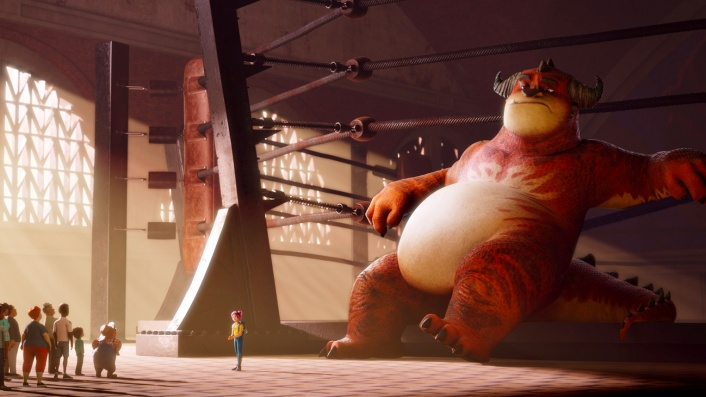 Rumble puts giant animated monsters in the ring