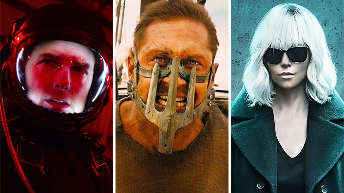 The top 10 action movies of the past decade
