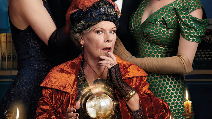 Judi Dench accidentally summons a love triangle in Blithe Spirit
