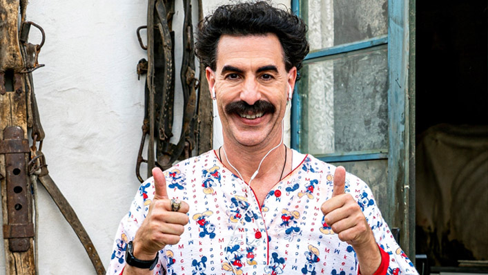 Borat is still wildy entertaining in his 'Moviefilm' sequel