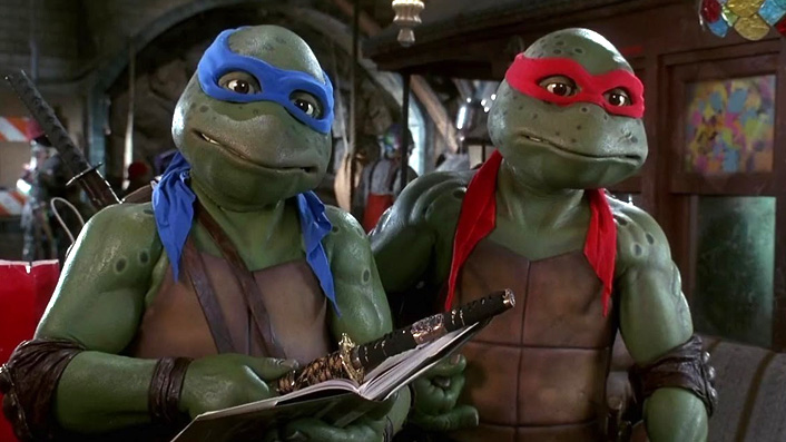 Cowabunga! A rotting costume from Teenage Mutant Ninja Turtles 3 has been rediscovered