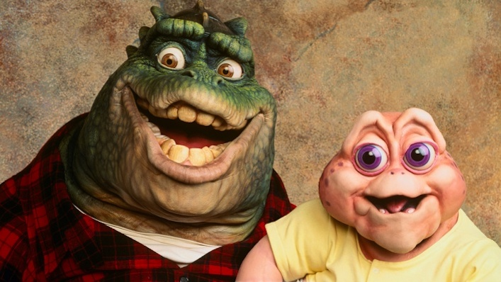 The bizarre 90s sitcom Dinosaurs is arriving soon on Disney+
