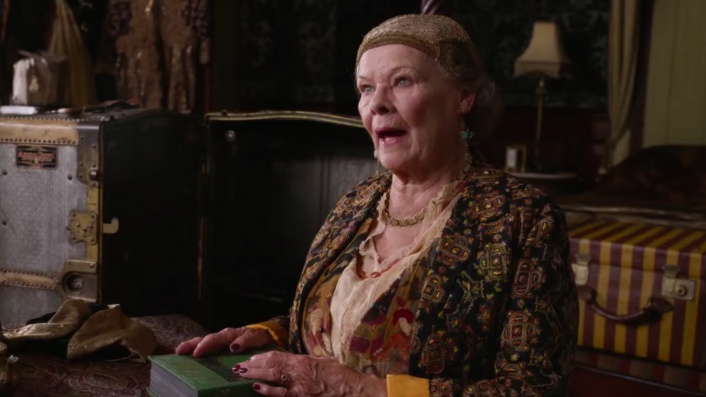 Judi Dench summons a love triangle in comedy classic Blithe Spirit