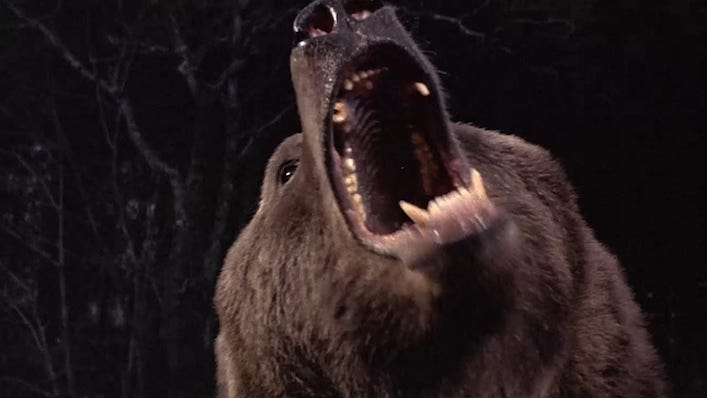 After 40 years, lost film Grizzly II gets its first trailer