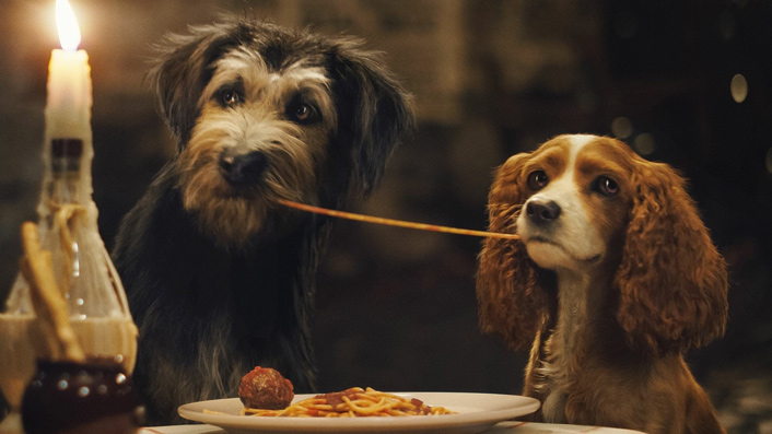 Disney's Lady and the Tramp is a sickeningly sweetened remake