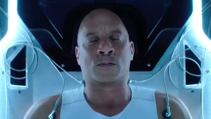 Bloodshot trailer shows off a cyborg Vin Diesel
