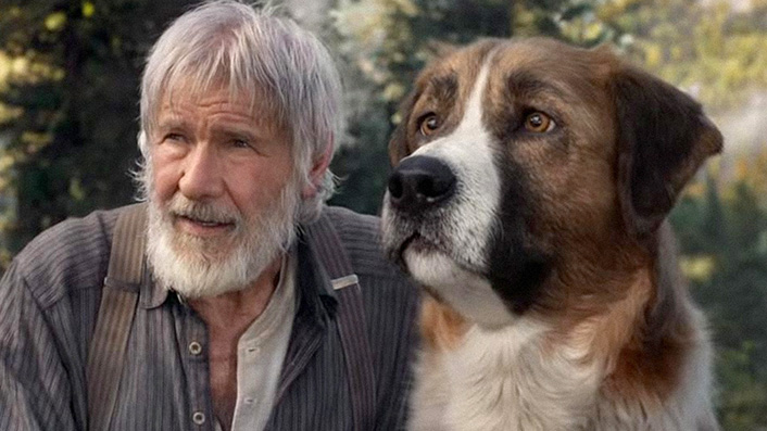 Harrison Ford and a very good boy lead Call of the Wild