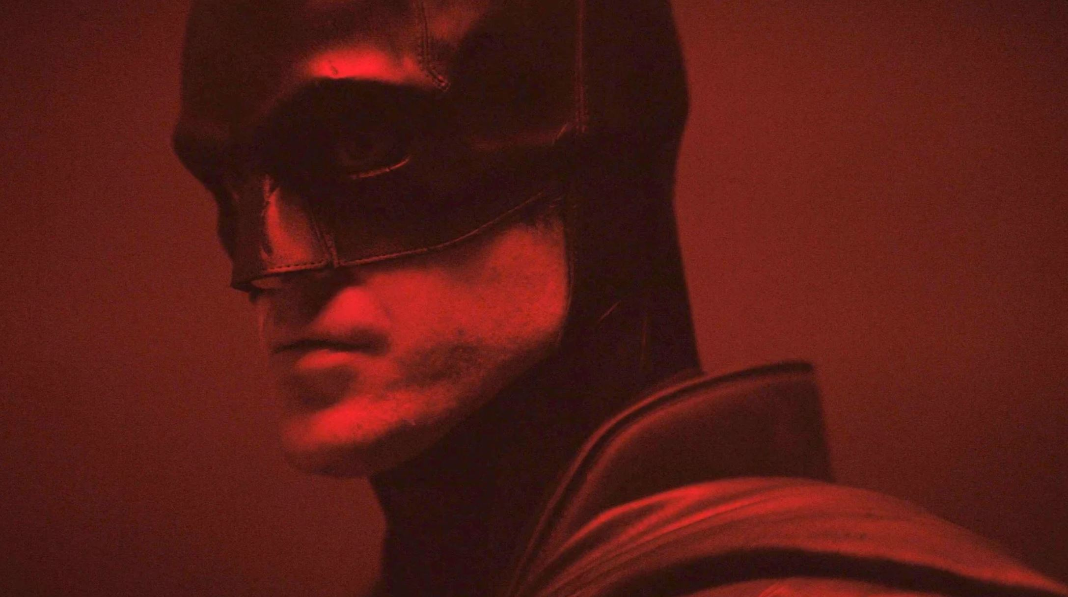 First, tantalisingly brief look at Robert Pattinson in The Batman