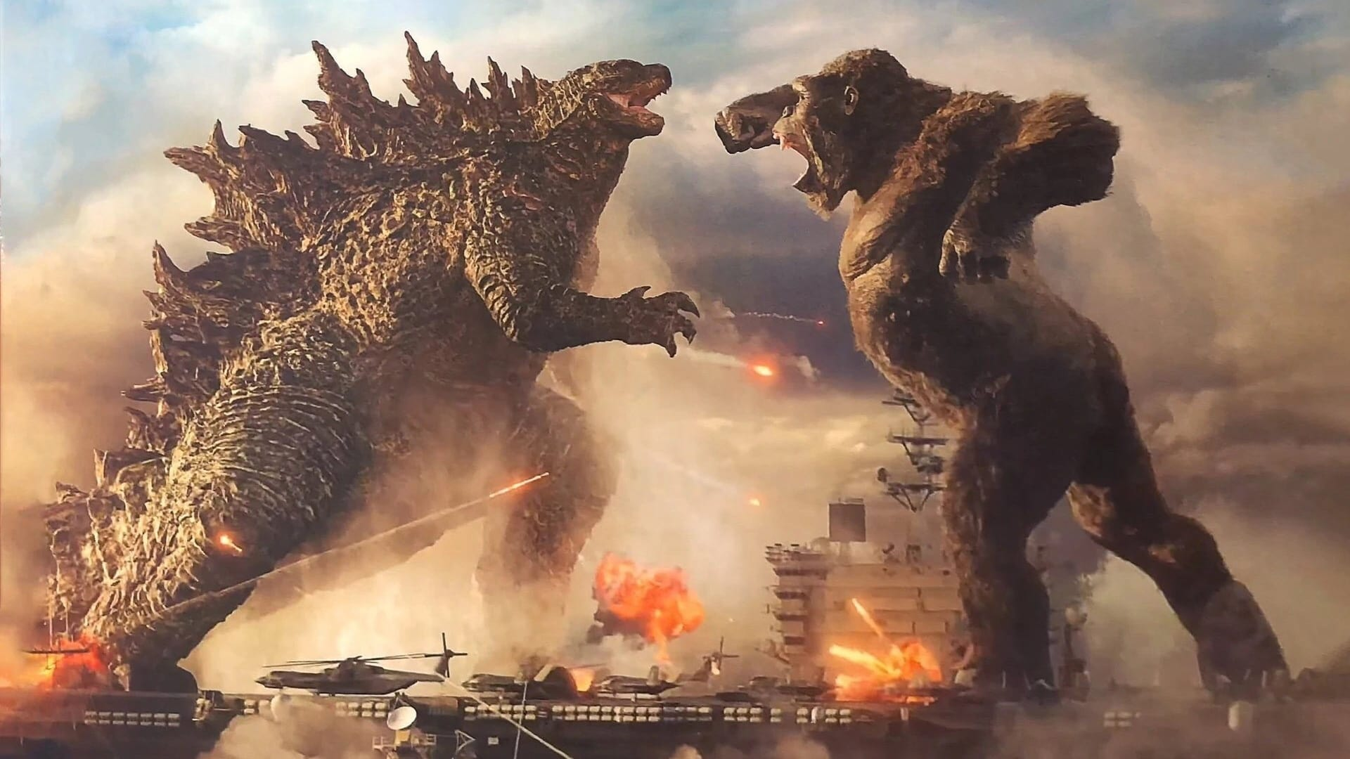 Kong and Godzilla duke it out in this first trailer